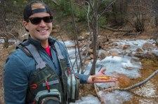 Brook Trout - Seven Bridges Fishing - Colorado Springs